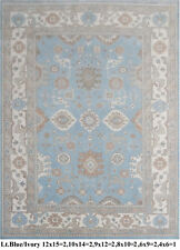 INDIAN HAND KNOTTED 6x9 180x270 OUSHAK PERSIAN ORIENTAL AREA RUG WOOL CARPET