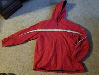 PACIFIC TRAIL Red Hooded Fleece Lined Jacket Boys XL Size 18-20