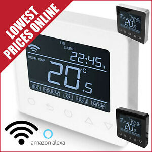 Wifi Thermostat Easy Fit & Fully Programable For Use with All Underfloor Heating