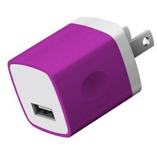 Maeline USB Wall Charger Charging Adapter 1Amp Single Port Quick Fast Cell Ph...