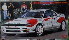 1992 Toyota Celica Turbo 4 WD Tour de Corse 1:24 Hasegawa 20291 limited