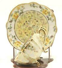 Vintage Napco  Bone China Footed Tea Cup & Saucer  Set Japan