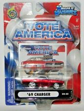 MUSCLE MACHINES VOTE AMERICA '69 DODGE CHARGER RED