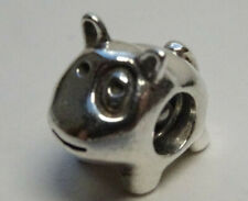 Original Pandora Beads Element 790258 Hund Dog  Elephant Silber Charms  57a