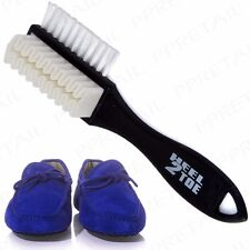 Quality Nubuck and Suede Multifunctional Heel to Toe Cleaning Shoe Boot Brush UK