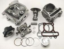 Chinese Scooter 50cc GY6 80cc Big Bore Kit Cylinder 64mm Head Piston Rings Kit