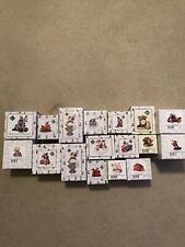 Lot of 17 Charming Tails Fitz & Floyd, mice and squirrels - New in boxes