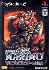 Used PS2 Maximo vs. Army of Zin   Japan Import (Free Shipping)