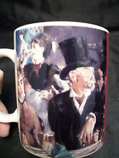Mug cup French painter Manet's The Cafe Concert coffee tea artist impressionist