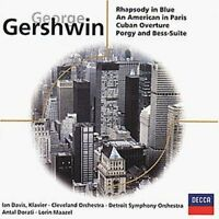 George Gershwin Rapsody in blue/An American in Paris/Cuban overture.. (19.. [CD]