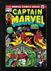 Captain Marvel 27 1973 2nd THANOS very fine + 8.5 FREE ship USA