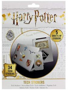 Harry Potter 34 Tech Sticker Pack (py)