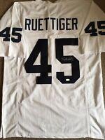 Rudy Ruettiger Signed Notre Dame Fighting Irish XL Jersey JSA COA Autographed
