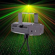 Mini LED Laser Licht Effekte Projector Bühnenlampe Rot/Grün DJ Stage Xmas Party