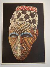 Berlin - Museum Dahlem - Maske - Kuba - Kongo - Museum für Völkerkunde / AK