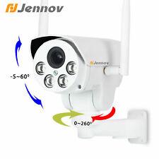 1080P 4X Zoom Wireless WiFi PTZ IP Security Camera Audio Outdoor Home CCTV~
