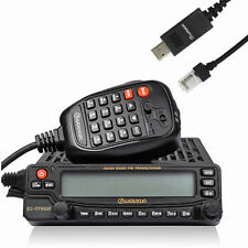 Wouxun KG-UV950P Quad Cross Band Car Truck Mobile Radio Repeater 50W + Cable US