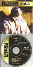 HECTOR EL FATHER Sola 4TRX MIX & ACAPELLA & INSTRUMENTAL PROMO DJ CD single