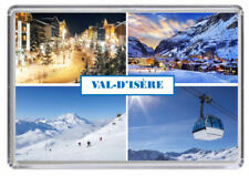 VAL-D'ISÈRE, Ski resort France Fridge Magnet VAL-D'ISERE