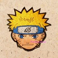 Naruto Face Patch Ninja Jacket Suit Spiral Logo Uzumaki Manga Anime Embroidered