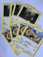 Type Null & Silvally x4 Pokemon Card Playset (8x Cards total) SM Unified Minds