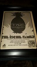 The Ritchie Family Debut Brazil Rare Original Promo Poster Ad Framed!