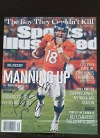 Peyton Manning Denver Broncos Signed 8x10 Autographed SportsIllustrated Photo RP