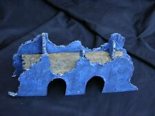 WARHAMMER SCENERY , SCRATCH BUILT RUIN, PAINTED