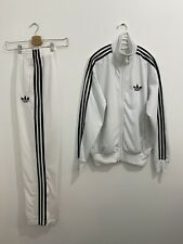 Adidas Originals ADI-Firebird Tracksuit White Black Size M