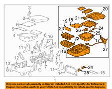 GM OEM Front Seat-Armrest Assembly 23423259