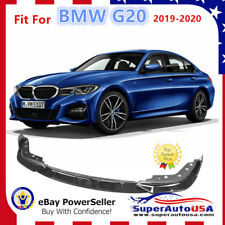 Fits 2019-2020 BMW 3 Series G20 M Sport Gloss Black Front Bumper Lip Spoiler