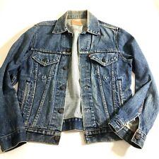 Levi's Denim Trucker Jean Jacket Vintage Red Tag USA Men Size 38