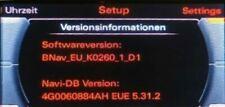 Brandneues Audi MMI 3G Basic Navi Update  5.31.2 - Euro 2021