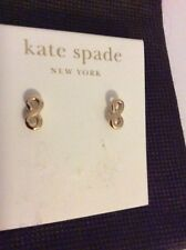 $48  Kate Spade Kiss A Prince Infinity Loops Stud Earrings $48 #102