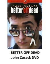 Better Off Dead John Cusack Dvd New And Sealed ~Free Shipping~