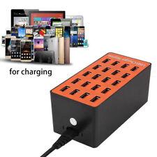 Compact Travel Charger USB Hub 20 Port Universal Wall Charging Station Phones