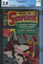 CGC 3.0 TALES OF SUSPENSE #52 1ST APPEARANCE OF THE BLACK WIDOW CR/OW PAGES