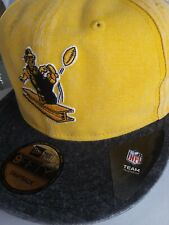 NEW ERA PITTSBURGH STEELERS SNAPBACK RUGGED CANVAS STEELY MCBEAM HISTORIC HAT