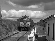 PHOTO  1985 TRAIN 016 AT SCART LEVEL CROSSING ONE OF CIE'S 001 CLASS DIESEL LOCO
