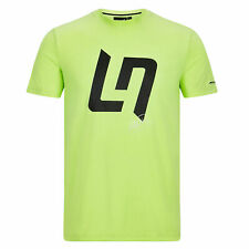 Fanatics McLaren Lando Norris Fluoro Sport Summer Short Sleeves T-Shirt Tee Top
