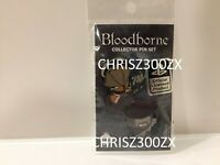 Bloodborne Pin SET C Henryk + Father Gascoigne Naughty Dog Playstation x2 Pins