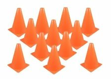 New Set of 12 Sport Training Traffic Orange Cones Soccer Cone New Free Shipping