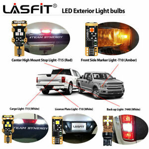 Lasfit LED Headlight Exterior Interior Light Bulb for Ford F150 2015-2020 Bright