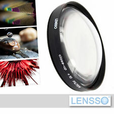 72mm - Close Up +10 Lens for macro photography - brand Lensso