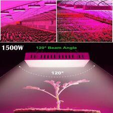 1500W LED Grow Light Lamp Pflanzenlampe Gewächshaus Vollspektrum Wuchs Licht