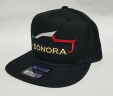 SONORA  MEXICO  HAT BLACK   SNAP BACK ADJUSTABLE  NEW