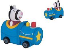 Pig Peppa Mini Buggy Zoe Zebra in Train Vehicle Brand New #438