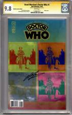 DOCTOR WHO #1 VARIANT CGC 9.8 SIGNATURE SERIES SIGNED GRANT MORRISON IDW DR