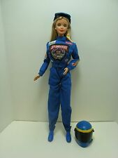 1998 50th Anniversary Nascar Barbie doll with helmet