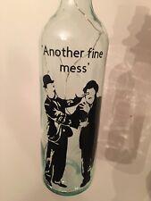 Laurel and Hardy bottle Light Up Christmas